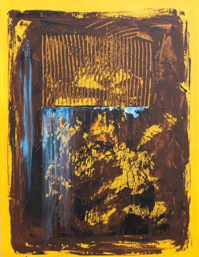 Afrika I, Acryl auf Leinwand 60x80