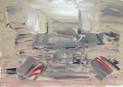Pompeji, Acryl auf Leinwand 50x40