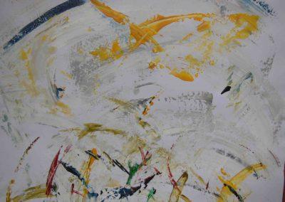 Skizze, Acryl auf Papier, 42x29,7