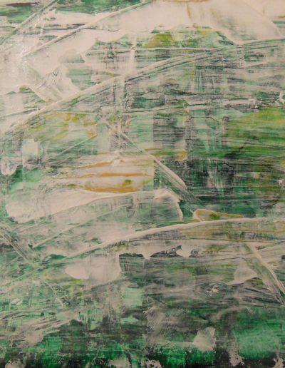 Skizze auf Papaier, 40x30, Acryl