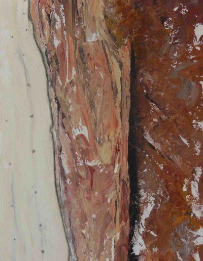 Struktur, Acryl auf Leinwand, 50x70