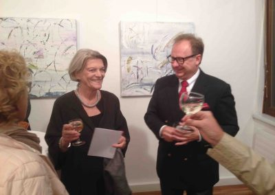 Vernissage 2014 mit Peter Walter