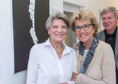 Vernissage 2017 Silvie Eppelein mit Kunstfreunden