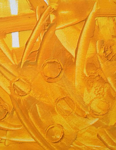 Zyklus Sonne, Acryl 30x30