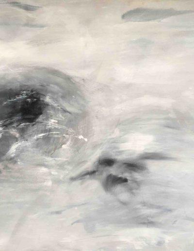 o.T., Acryl auf Leinwand, 160x120