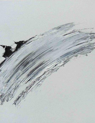 o.T., Acryl auf Leinwand, 50x40x4