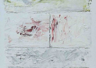 o.T., Acryl auf Leinwand, 70x100