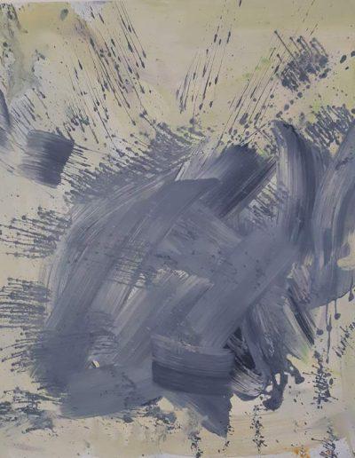 o.T., Acryl auf Leinwand, 100x100