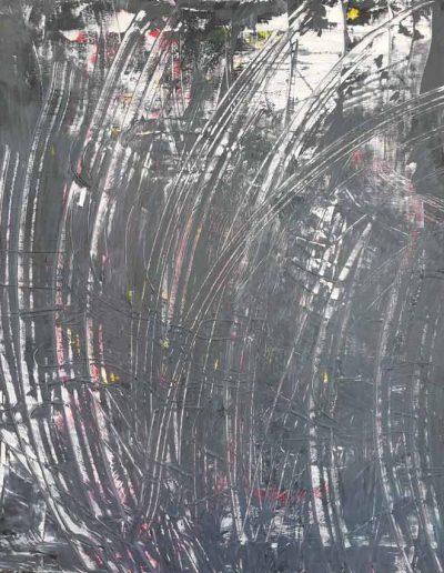 o.T., Acryl auf Leinwand, 70x70